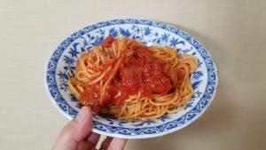 トマトの果肉たっぷりのナポリタン(パスタソース)/マ・マー_20200215_124405