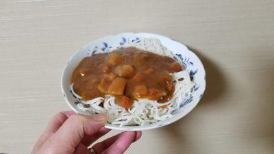 おいしいカレー(中辛)/S&B(エスビー食品)_20200307_191010