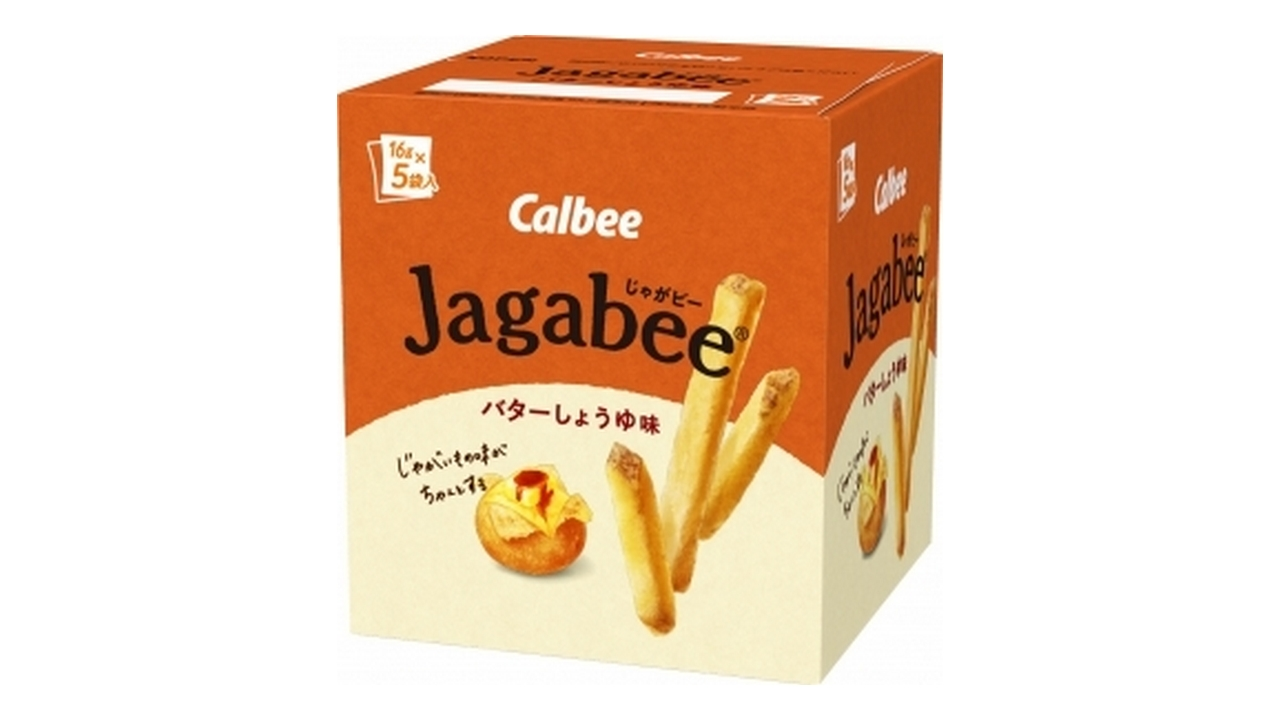 じゃがビー(バターしょうゆ味)80g(16g×5)/カルビー_jagabee