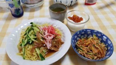 冷し中華醤油だれ3食/だい久製麺_20200509_135909